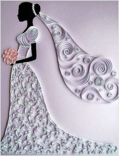 Out of many forms of art created with paper, one absolutely amazing is quilling. In quilling thin strips of paper are rolled giving rise to beautiful twirl Quilled Paper Art, Paper Quilling Designs, Quilling Paper Craft, Quilling Patterns, Diy Paper, Paper Crafts, Quiling Paper, Paper Quilling Tutorial, Arte Quilling
