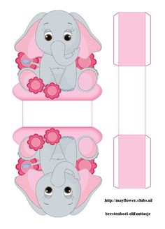 Homemade Gift Boxes, Diy Gift Box, Diy Box, Paper Folding For Kids, Paper Box Template, Box Templates, Diy Paper, Paper Crafts, Elephant Template