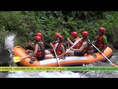 Ubud Bali White Water Rafting 50% Off | Bali Rafting Ayung River Rafting USD $ 30 / person
