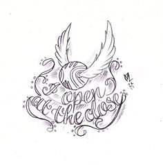 Golden Snitch Tattoo Sketch by Nevermore-Ink on DeviantArt - Harry Potter tattoo. Harry Potter Kawaii, Harry Potter Sketch, Arte Do Harry Potter, Harry Potter Drawings, Harry Potter Love, Harry Potter Quilt, Harry Potter Tattoos, Harry Potter Tattoo Unique, Golden Snitch Tattoo