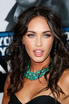 Megan Fox in Turquoise Necklace