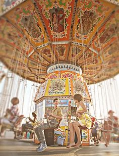 carousel + love = awesome picture