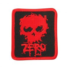 Patch Zero Skateboard blood skull black red 8€ #zero #zeroskate #zeroskateboard #zeroskateboards #skull #skate #skateboard #skateboarding #streetshop #skateshop @PLAY Skateshop