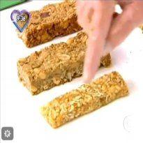 Receita de Barra de Cereal do Mais Você