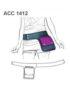 Easy image of just how basic this shape is - use belt length and d-rings to hold it up Diy Bags Purses, Diy Purse, Denim Crafts, Creation Couture, Hip Bag, Denim Bag, Diy Face Mask, Handmade Bags, Leather Working
