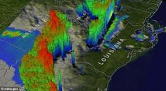 Texas Tornadoes Captured By NASA Satellite In 3D (Video)