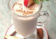 Paleo, Evo, Macarons, Glass Of Milk, Panna Cotta, Pudding, Drinks, Healthy, Ethnic Recipes
