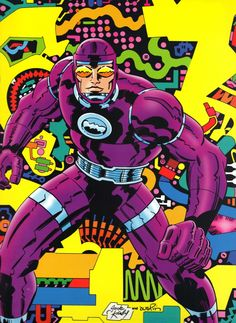 Machine Man by Jack Kirby from Jack Kirby Collector #48