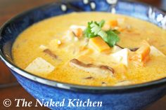 Thai Coconut Vegetable Soup - I might make this without the tofu