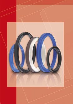 Wiper seals for heavy duty hydraulic cylinders #hydraulic #pneumatic #orings #seals #sealing #tecnolan #tecnotex #sakagami #nok #skf