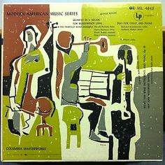 Bernard Greenhouse Makas Berger Duo for Cello Piano LP Mint