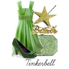 Tinkerbell, created by disneydreamland on Polyvore