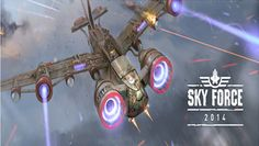 Sky Force 2014 Ready to Take Off, Now Available in Play Store #androidgames