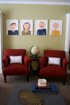 Creative Wall Displays: Gallery Walls and more! | landeelu.com
