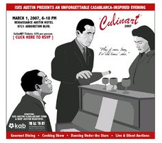 October 16: Casablanca-Themed Event Email