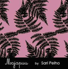 Organic jersey. Print design: Sari Pelho