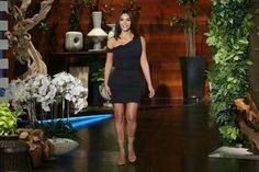 Kim Kardashian on Ellen Show / april 26, 2017