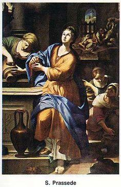 EVANGELIO DEL DIA Santa Práxedes de Roma 138-161