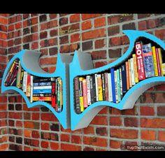 Batman Book Shelf Wish It Was In Black