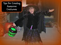 Learn how to help the kids create super costumes without tons of hassles!