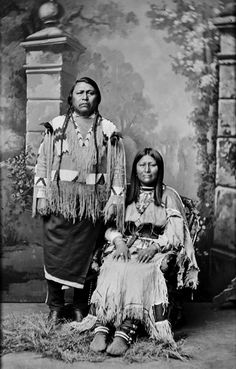 Ute Chief The Arrow - Ouray and wife Chipeta 1878