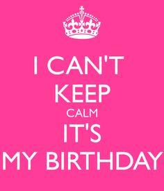 Birthday Wishes For Myself Happy Birthday Birthdays And Zodiac Wishing Myself A Happy Birthday