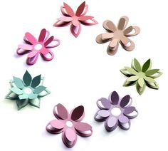 free svg flower file | 3D Cut out flower collection - SVG files by Alaa Kay