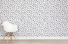 black-and-white-spotted-speckle-room