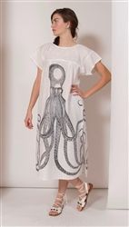 OCTOPUS BEACH DRESS SMALL/MEDIUM