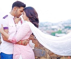 Badrinath and his Dulhania are just a few crores away from a box office century. Alia Bhatt and Varun Dhawan's Badrinath Ki Dulhania hit screens on March 10 and has made a sum of Rs at the box office, reported trade analyst Taran Adarsh. Bollywood Couples, Bollywood Actors, Bollywood News, Bollywood Celebrities, Badrinath Ki Dulhania Movie, Alia Bhatt Varun Dhawan, Alia And Varun, Hindi Movies Online, Couple Photoshoot Poses