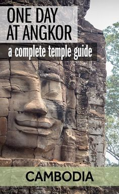 If you're wondering what the best temples at Angkor are, then this is the guide for you on your Cambodia travels. It's a one day travel guide for Angkor Wat and the other temples near Siem Reap. What to see at Angkor - one of the best things to to do in Cambodia. #TravelDestinationsUsaSouth