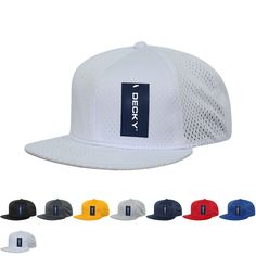 c5bb642adbadc9 The Wholesale Blank Mesh Jersey Flat Bill Snapback Hat (Decky 1128) is made  of