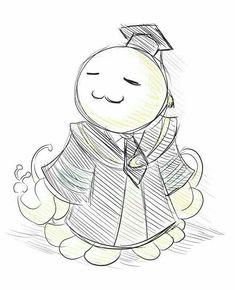 Kawaii - Koro Sensei ^w^ Manga Anime, Anime Art, Chibi, Koro Sensei, Nagisa Shiota, Susanoo, I Love Anime, Anime Shows, Anime Characters