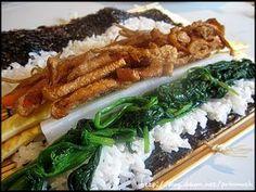 생활의 달인에게 배운 유부김밥~~완전 대박^^* – 레시피   다음 요리 Asian Cooking, Easy Cooking, Cooking Recipes, Korean Dishes, Korean Food, How To Cook Liver, Asian Recipes, Healthy Recipes, Daily Meals