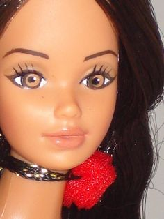 Hispanic Barbie 1980.
