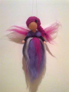 Olá Sou a Fada Violeta!  Padrão dos Salpicos das Bruxas