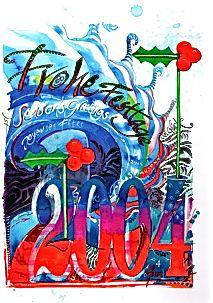 """Ischtwan © Karte """"Frohe Festtage 2004"""""""