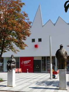 A one hour train ride from Vienna - the Karikatur Museum, in Krems, Austria