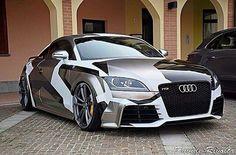 Camo Audi TTRS