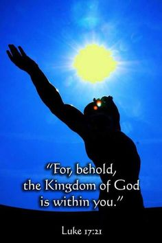 The Kingdom of God is within you. Praise And Worship Prayer, Worship The Lord, Bible Verses Quotes, Bible Scriptures, Awakening Quotes, Spiritual Awakening, Luke 17, Gospel Of Luke, Spirit Quotes