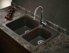 Silgranit, Natural Granite Composite Topmount Kitchen Sink, Cafe