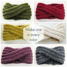 Headband Knitting Pattern - Ear Warmer Knitting Pattern - Chunky Cowl Knitting Pattern - Chunky Turban Headband - DIY PDF Unendlich Stirnband stricken Muster Ohr wärmer von KnitsForLifeCowl (disambiguation) A cowl may refer to: Chunky Knitting Patterns, Loom Knitting, Knit Patterns, Free Knitting, Blanket Patterns, Amigurumi Patterns, Stitch Patterns, Yarn Projects, Knitting Projects