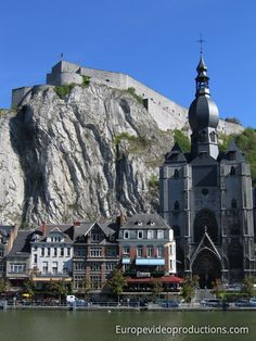 Dinant in Wallonien in Belgien