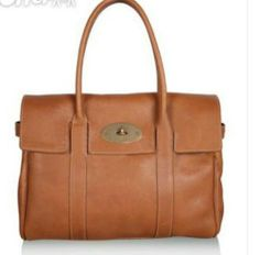 Brand classic design of a tree MULBERRYity BAYSWATER woman HANDBAG BROWN SHOULDER BAGS7 US $53.50
