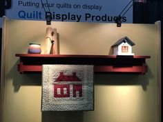 Quilt Wall Shelf Contemporary Style - Classic - Hang your favorite quilt on one of our wall shelves or racks. Your quilts can be used with or without a sleeve. Shelves hold small items for display, and racks allow you to make width and height adjustments.