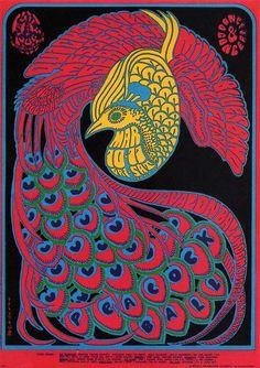 Victor Moscoso, Quicksilver Avalon Ballroom, 1967