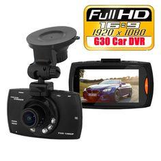 "Car camera dvr mini G30 HD 1080P Car Camera Car DVR 2.7"" Novatek 96220 Vehicle Traveling Date Recorder Night Vision Tachograph"