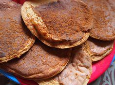 pumpkin protein pancakes grain free
