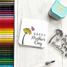 DIY this adorable card for Mother's Day!