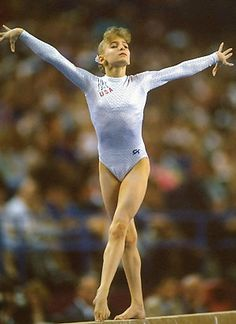 2 Time Olympian, Shannon Miller. The most decorated US gymnast. She won the team gold in 1996 as well as an event gold for Beam. In Barcelona in '92, she received the Silver medal in the all-around competition as well as a team bronze, and won the bronze for floor and uneven bars.